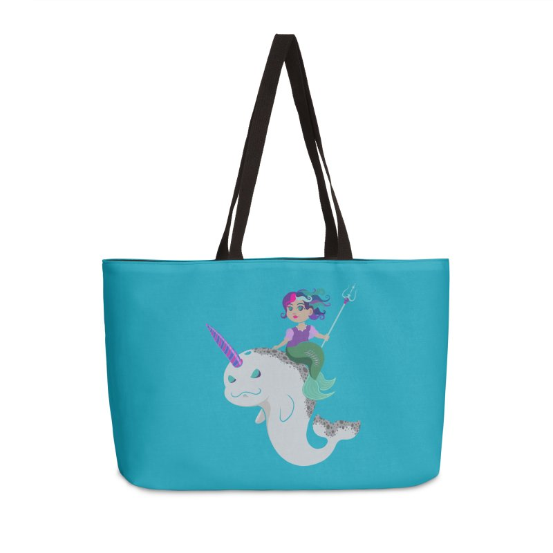 Once Upon a Wave Accessories Weekender Bag Bag by Creaturista's Fine Goods