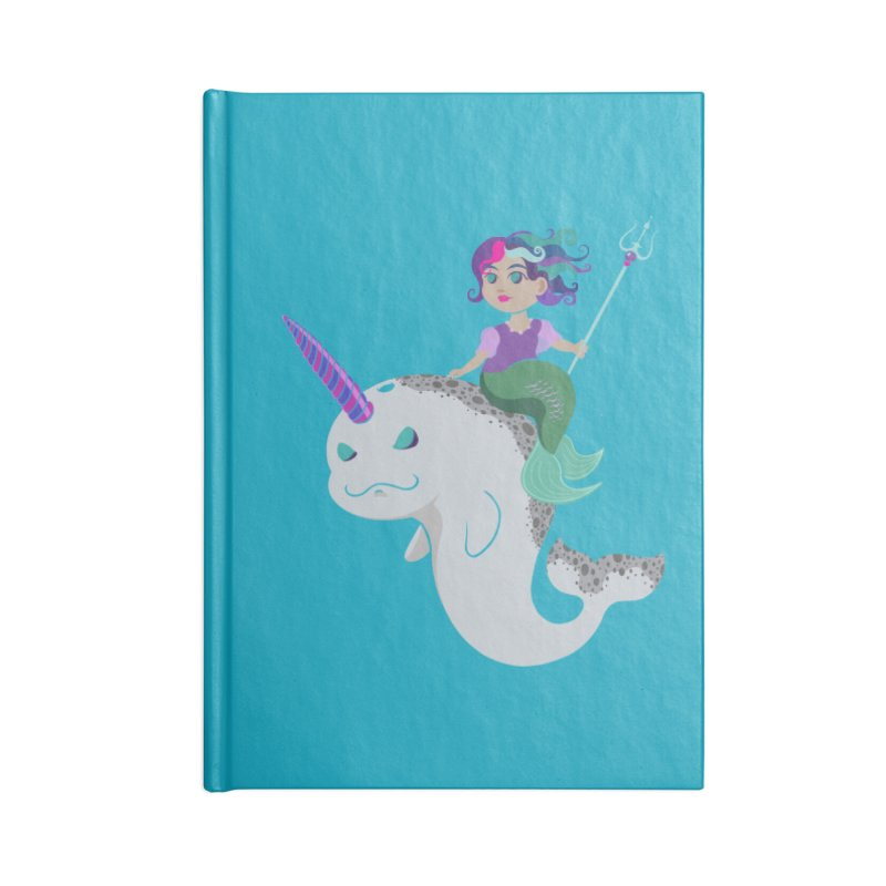 Once Upon a Wave Accessories Blank Journal Notebook by Creaturista's Fine Goods
