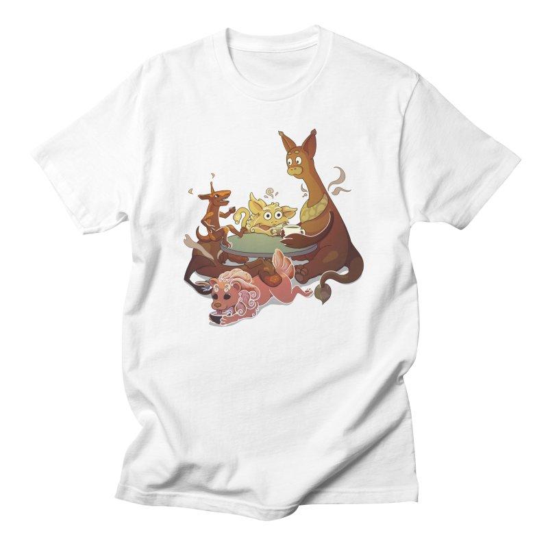 Coffee Party Women's T-Shirt by Creaturista's Fine Goods