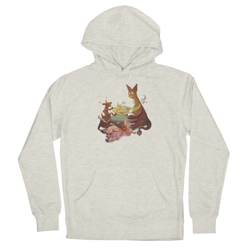 Coffee Party Men's Pullover Hoody by Creaturista's Fine Goods