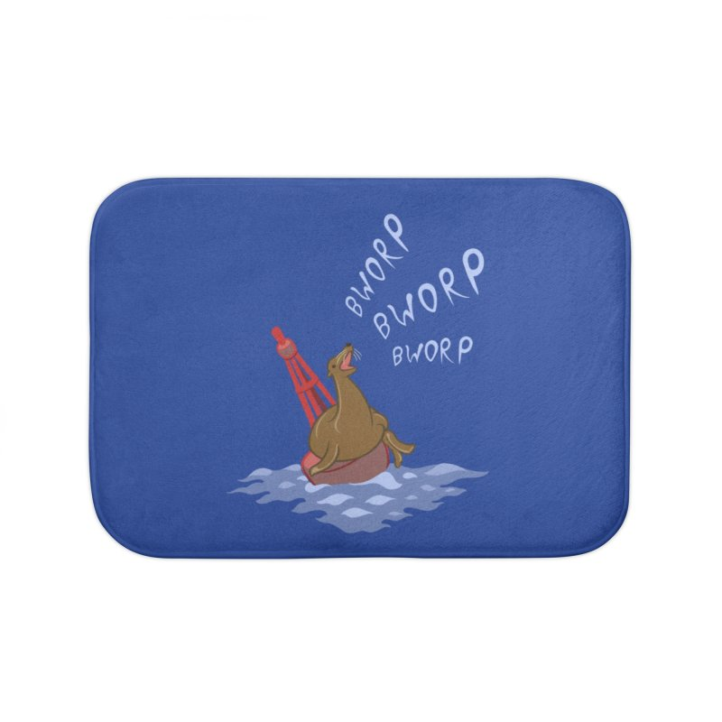 Forever Bworpin Home Bath Mat by Creaturista's Fine Goods