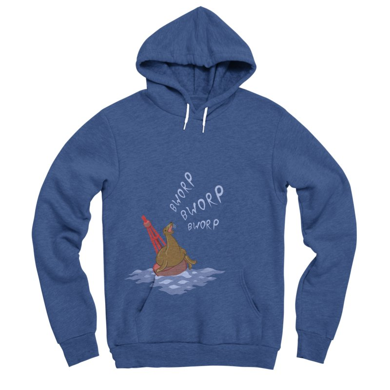 Forever Bworpin Men's Sponge Fleece Pullover Hoody by Creaturista's Fine Goods