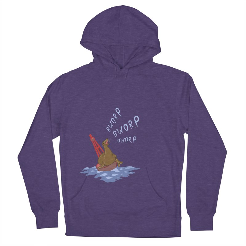 Forever Bworpin Men's French Terry Pullover Hoody by Creaturista's Fine Goods