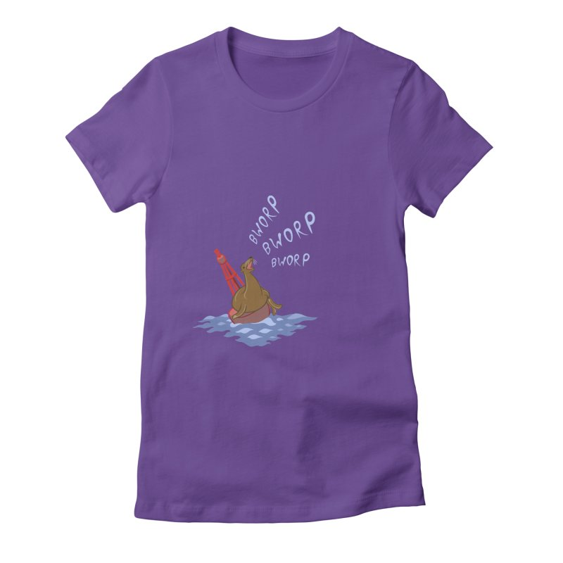 Forever Bworpin Women's Fitted T-Shirt by Creaturista's Fine Goods