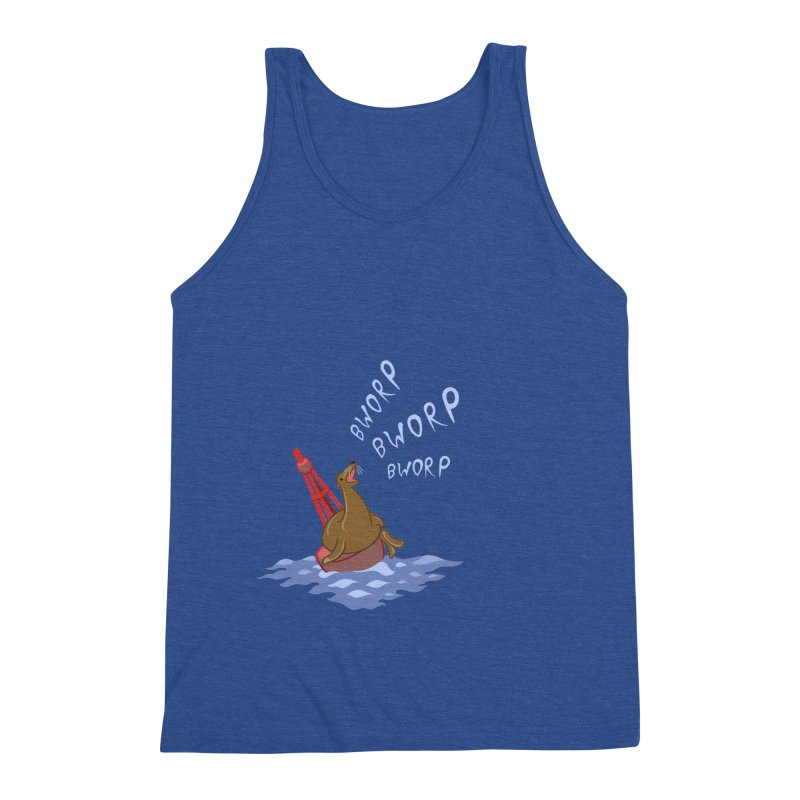 Forever Bworpin Men's Triblend Tank by Creaturista's Fine Goods