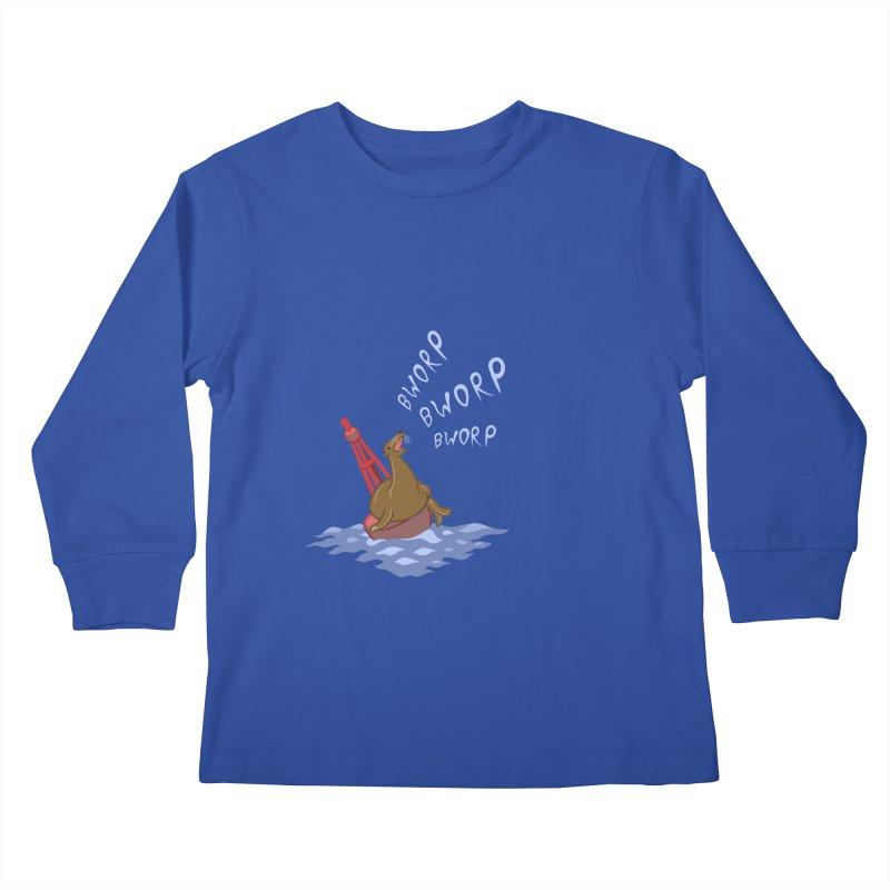 Forever Bworpin Kids Longsleeve T-Shirt by Creaturista's Fine Goods