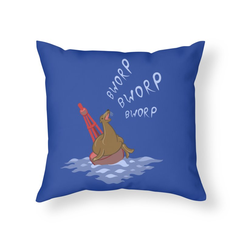 Forever Bworpin Home Throw Pillow by Creaturista's Fine Goods