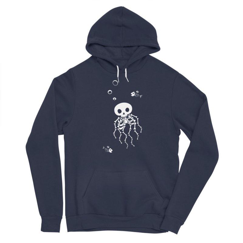 Bone Jelly Men's Sponge Fleece Pullover Hoody by Creaturista's Fine Goods