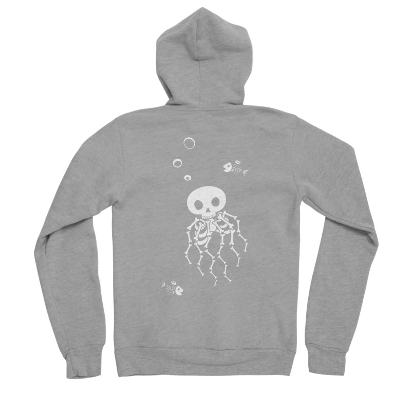 Bone Jelly Men's Sponge Fleece Zip-Up Hoody by Creaturista's Fine Goods