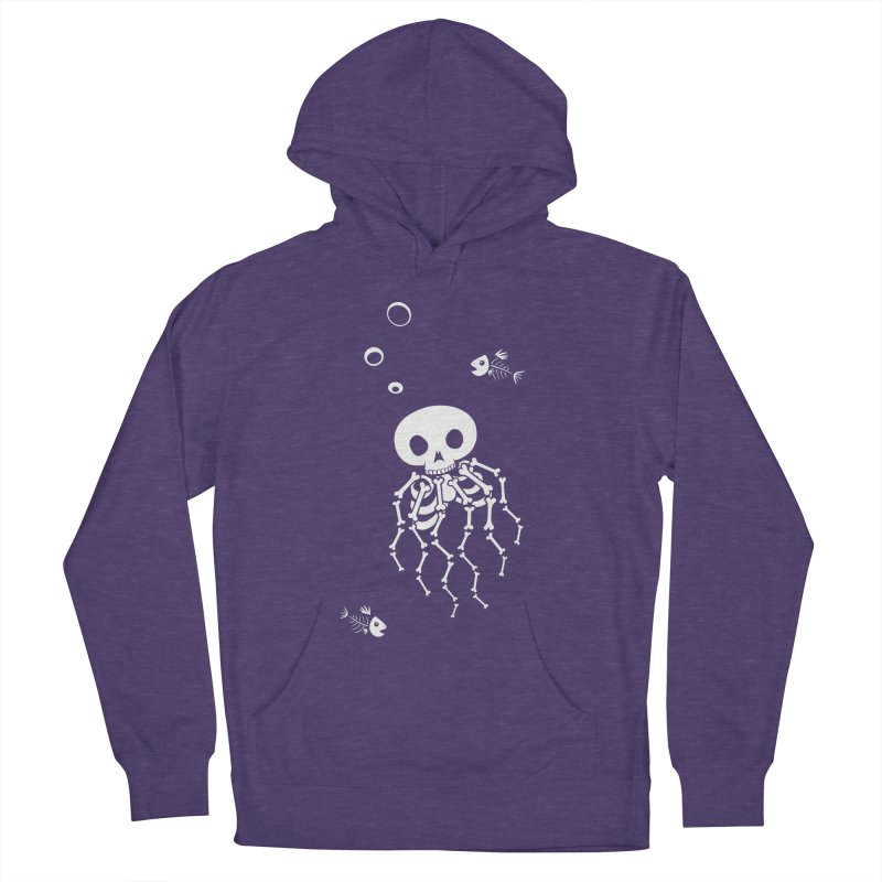 Bone Jelly Men's French Terry Pullover Hoody by Creaturista's Fine Goods