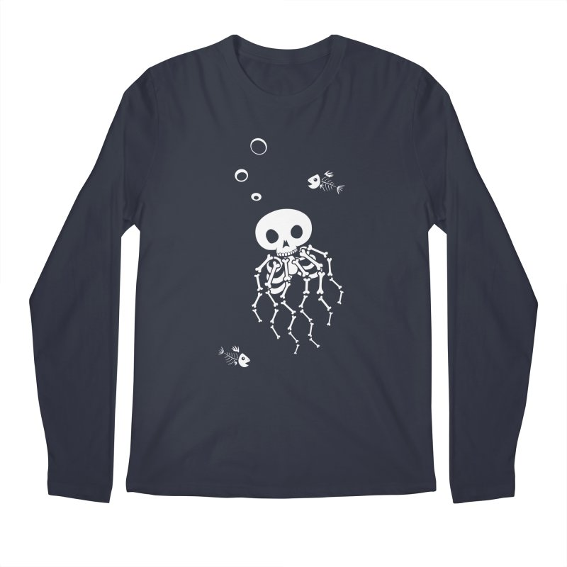 Bone Jelly Men's Longsleeve T-Shirt by Creaturista's Fine Goods