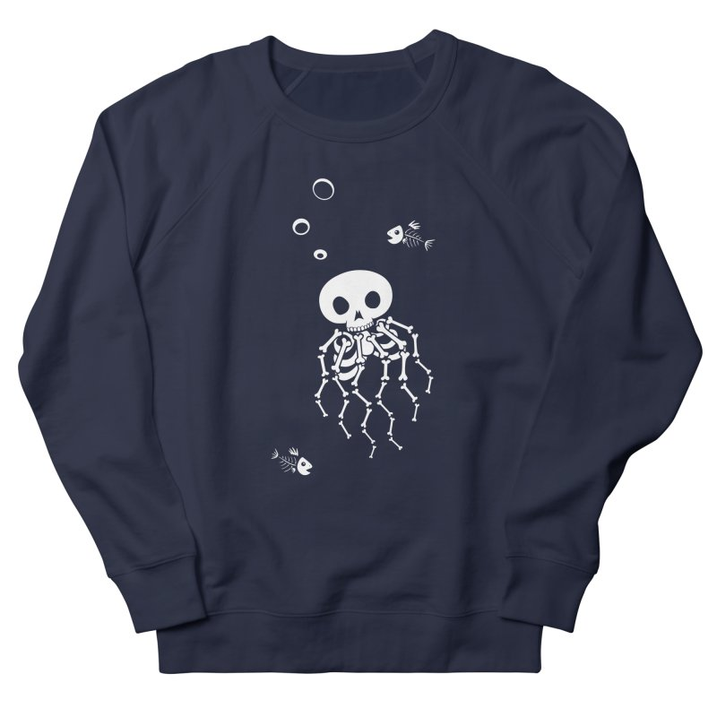 Bone Jelly Men's French Terry Sweatshirt by Creaturista's Fine Goods