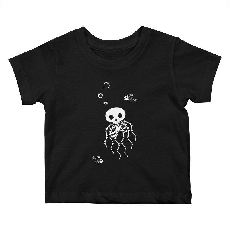 Bone Jelly Kids Baby T-Shirt by Creaturista's Fine Goods