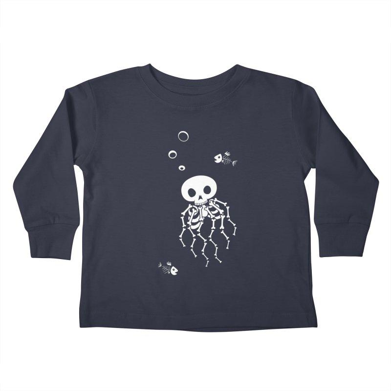 Bone Jelly Kids Toddler Longsleeve T-Shirt by Creaturista's Fine Goods