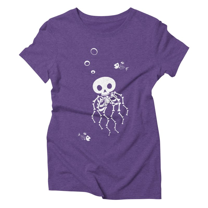 Bone Jelly Women's Triblend T-Shirt by Creaturista's Fine Goods