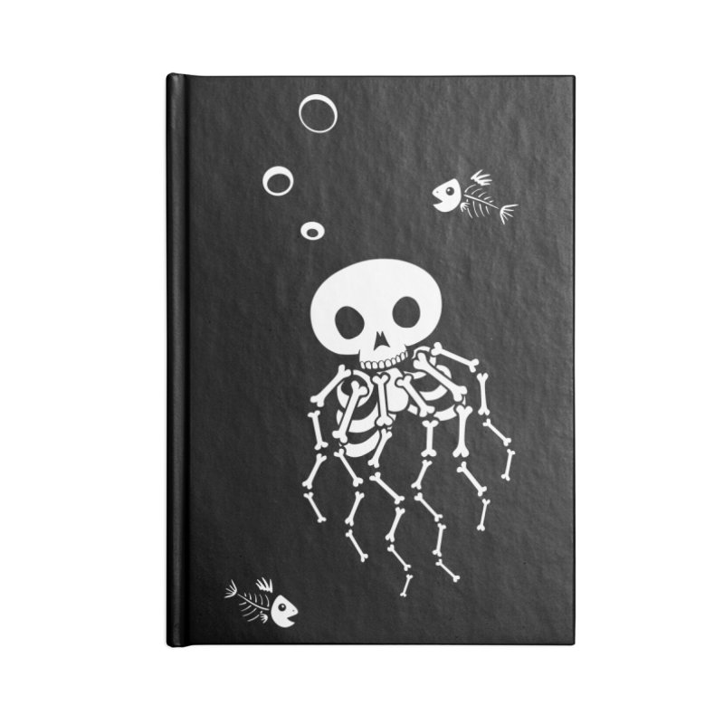 Bone Jelly Accessories Blank Journal Notebook by Creaturista's Fine Goods
