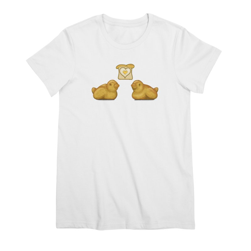 Love Breads Women's T-Shirt by Creaturista's Fine Goods