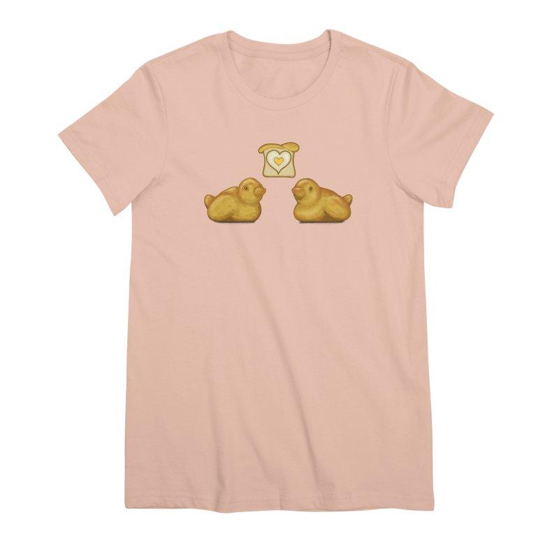 Love Breads Women's Premium T-Shirt by Creaturista's Fine Goods
