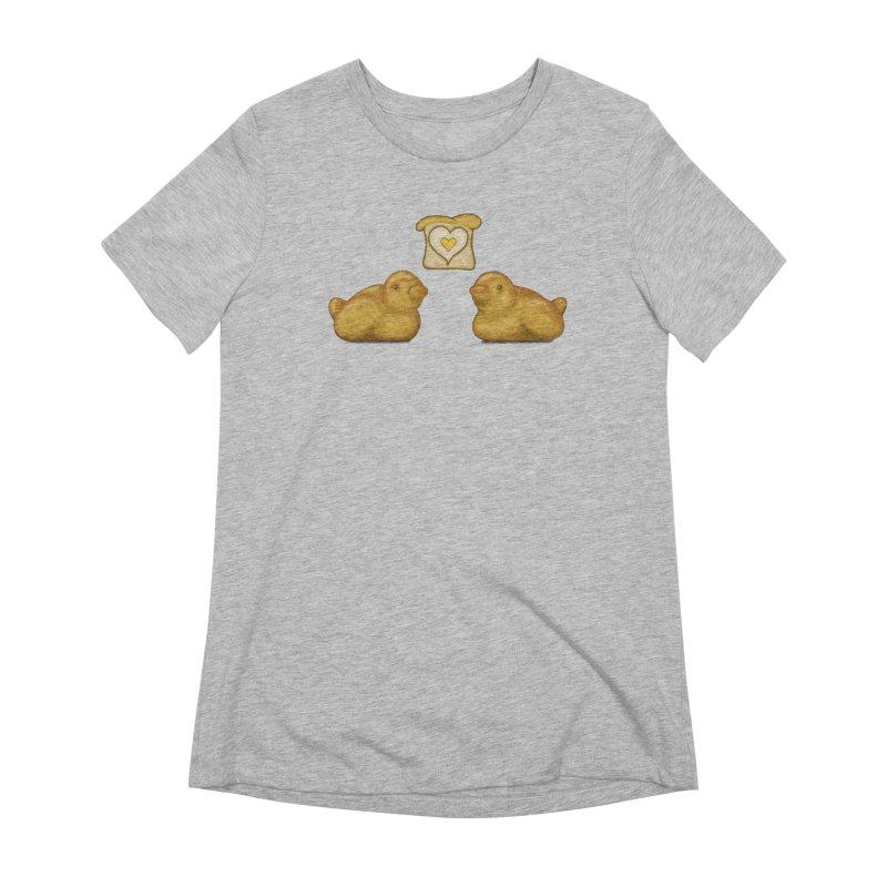 Love Breads Women's Extra Soft T-Shirt by Creaturista's Fine Goods
