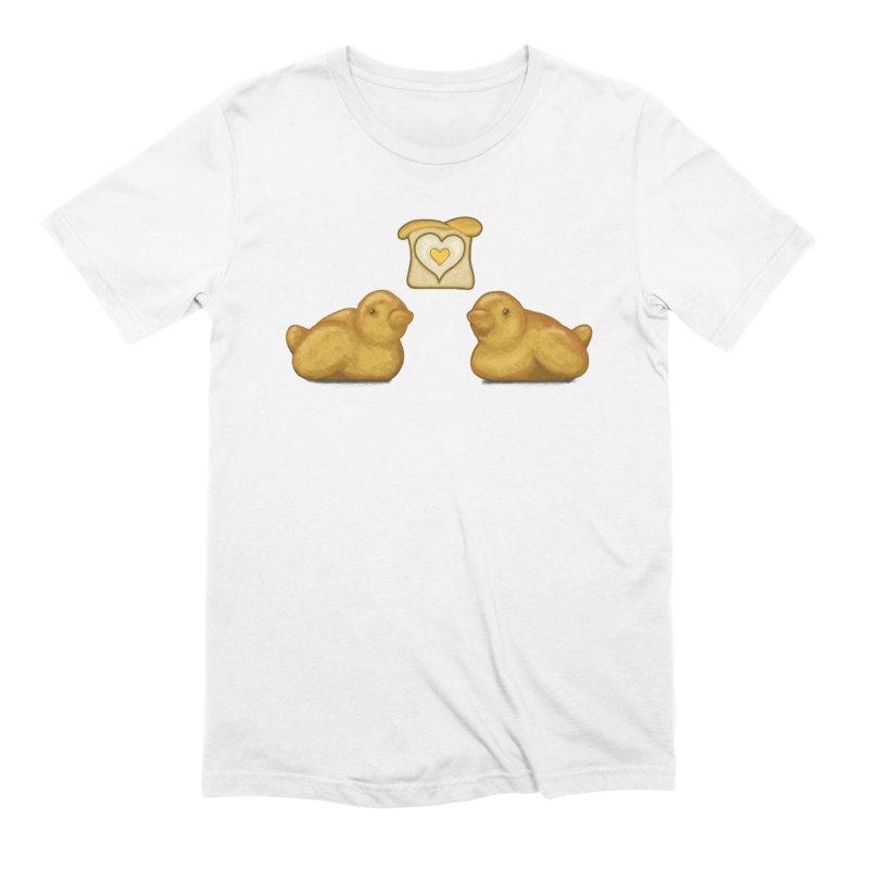 Love Breads Men's Extra Soft T-Shirt by Creaturista's Fine Goods