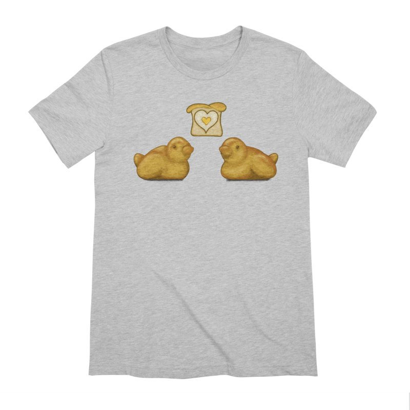 Love Breads Men's Extra Soft T-Shirt by Creaturista's Fine Goods