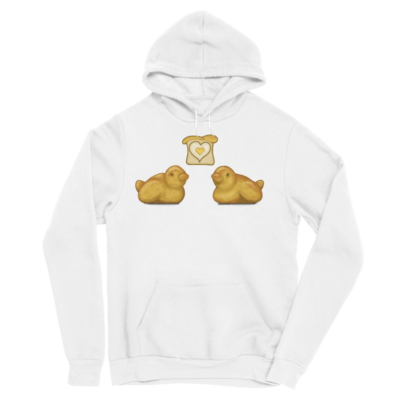 Love Breads Men's Sponge Fleece Pullover Hoody by Creaturista's Fine Goods