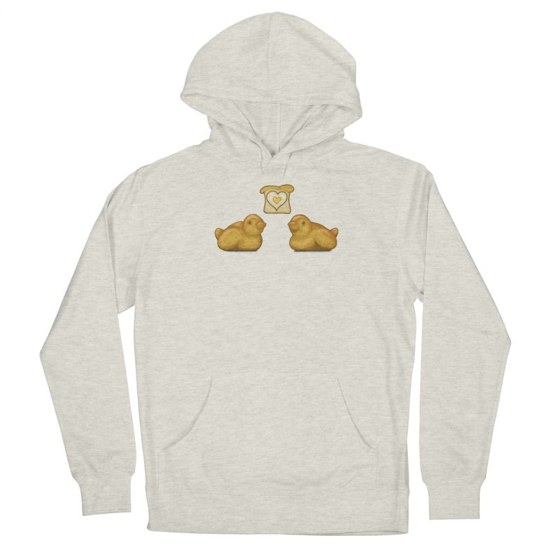 Love Breads Men's Pullover Hoody by Creaturista's Fine Goods