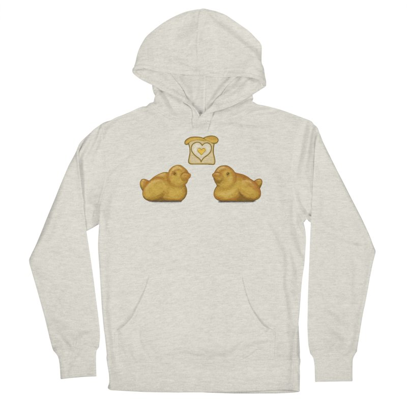 Love Breads Men's French Terry Pullover Hoody by Creaturista's Fine Goods