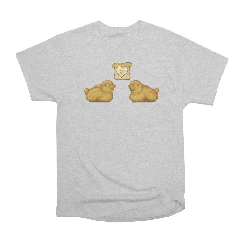 Love Breads Men's Heavyweight T-Shirt by Creaturista's Fine Goods