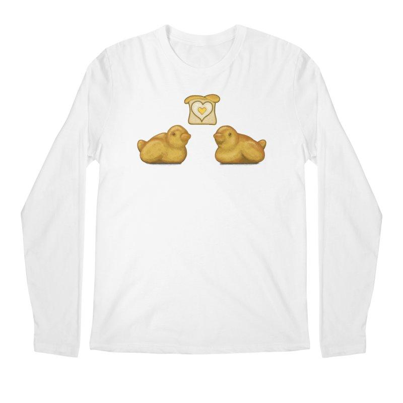 Love Breads Men's Regular Longsleeve T-Shirt by Creaturista's Fine Goods