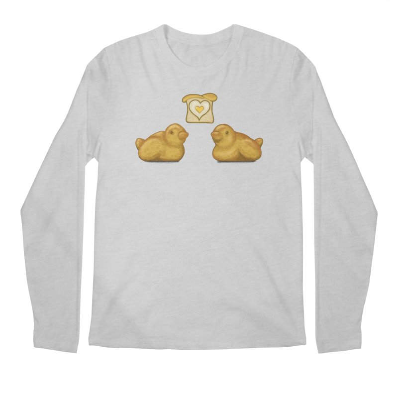 Love Breads Men's Regular Longsleeve T-Shirt by Creaturista's Fine Goods