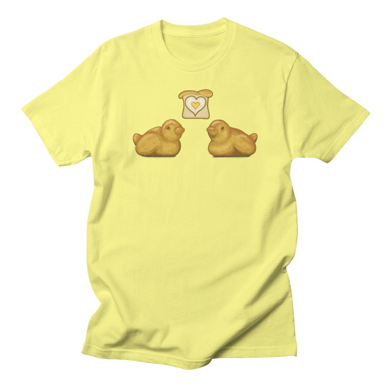 Love Breads Men's T-Shirt by Creaturista's Fine Goods