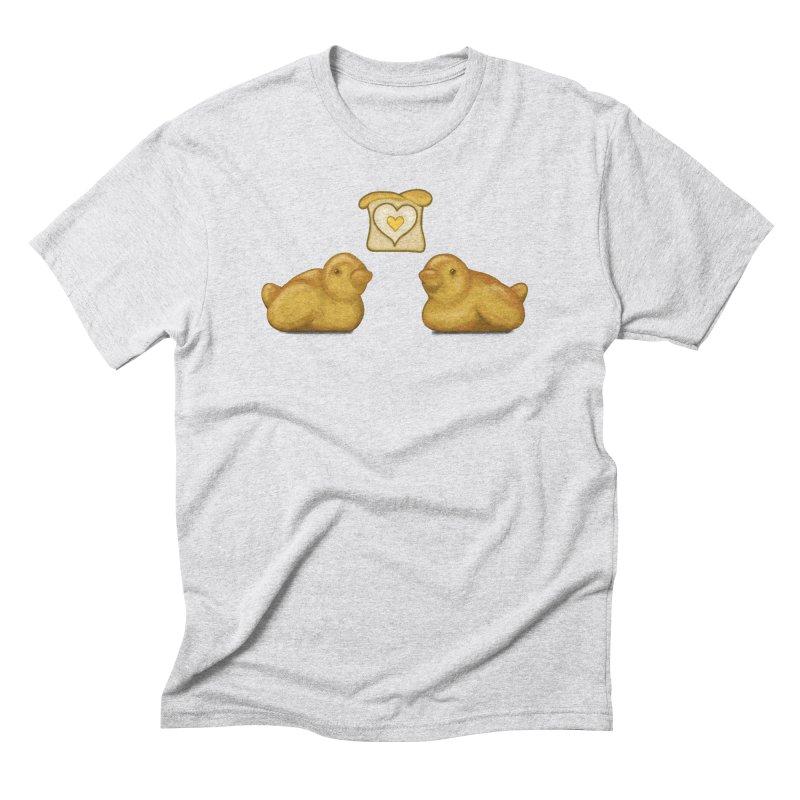 Love Breads Men's Triblend T-Shirt by Creaturista's Fine Goods