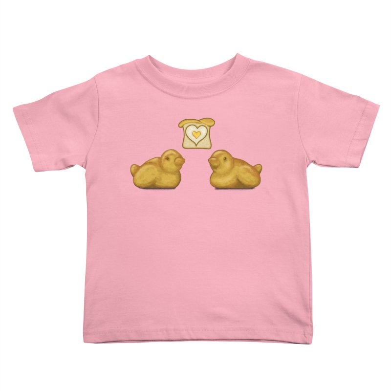 Love Breads Kids Toddler T-Shirt by Creaturista's Fine Goods