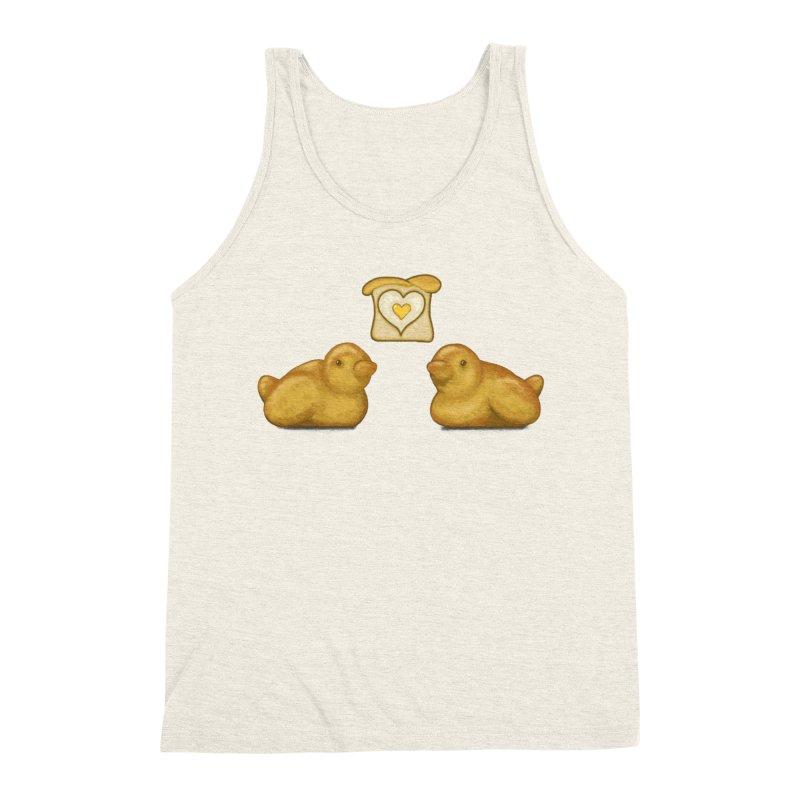 Love Breads Men's Triblend Tank by Creaturista's Fine Goods