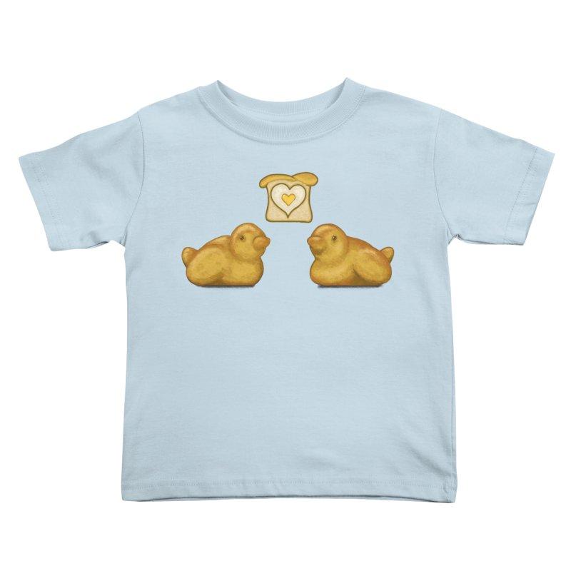 Love Breads Kids Toddler T-Shirt by Creaturista's Fine Goods