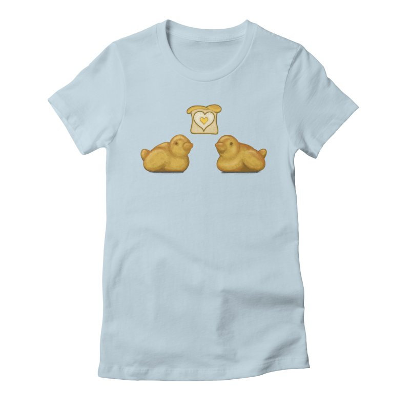 Love Breads Women's Fitted T-Shirt by Creaturista's Fine Goods