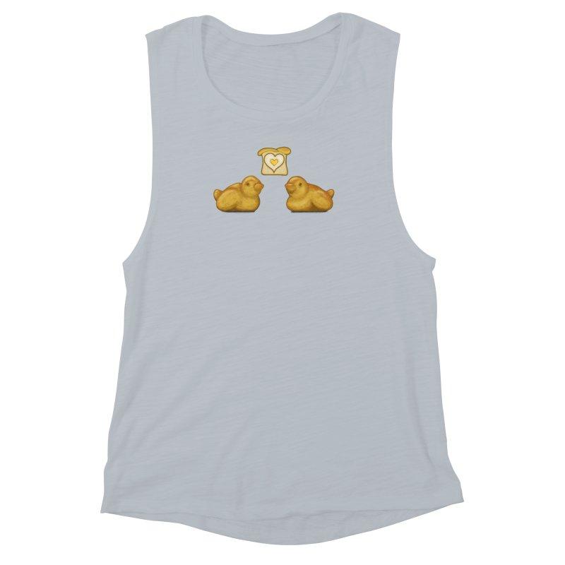 Love Breads Women's Muscle Tank by Creaturista's Fine Goods