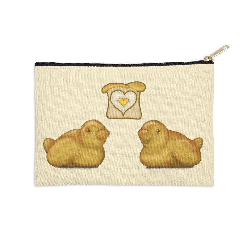 Love Breads Accessories Zip Pouch by Creaturista's Fine Goods