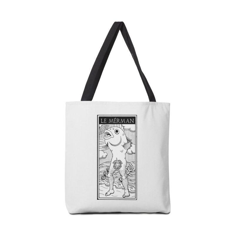 The Merman (light shirt version) Accessories Bag by Creaturista's Fine Goods