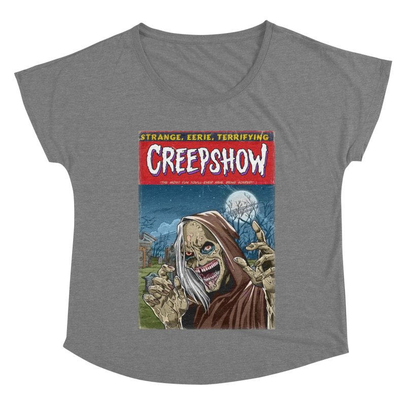 Creepshow Women's Scoop Neck by Official Creepshow Store