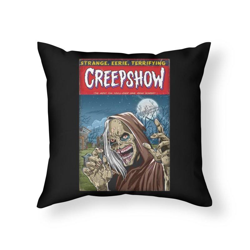 Creepshow Home Throw Pillow by Official Creepshow Store