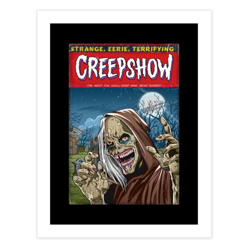 Creepshow Home Fine Art Print by Official Creepshow Store