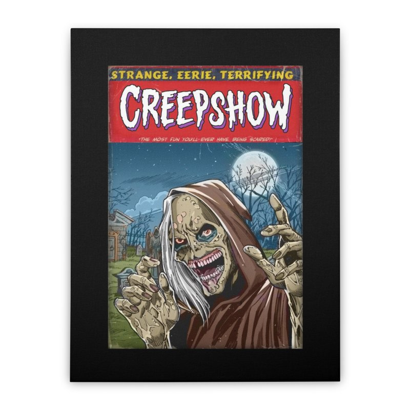 Creepshow Home Stretched Canvas by Official Creepshow Store