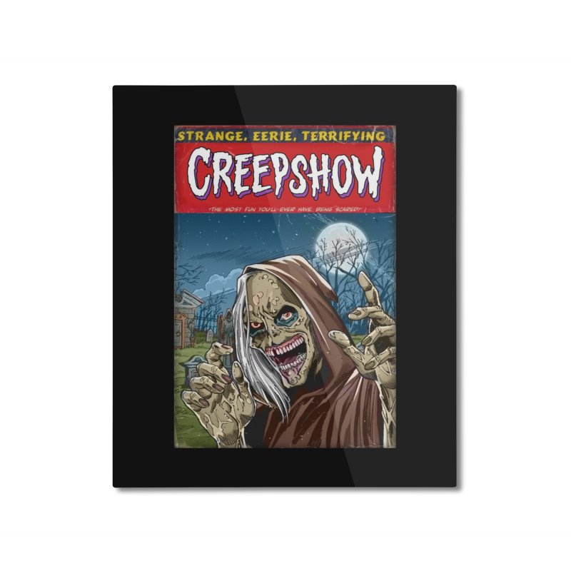 Creepshow Home Mounted Aluminum Print by Official Creepshow Store