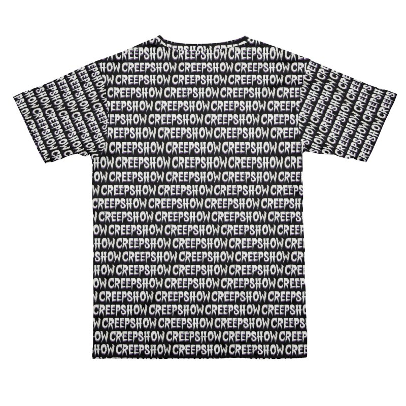 Creep Show Pattern Men's Cut & Sew by Official Creepshow Store