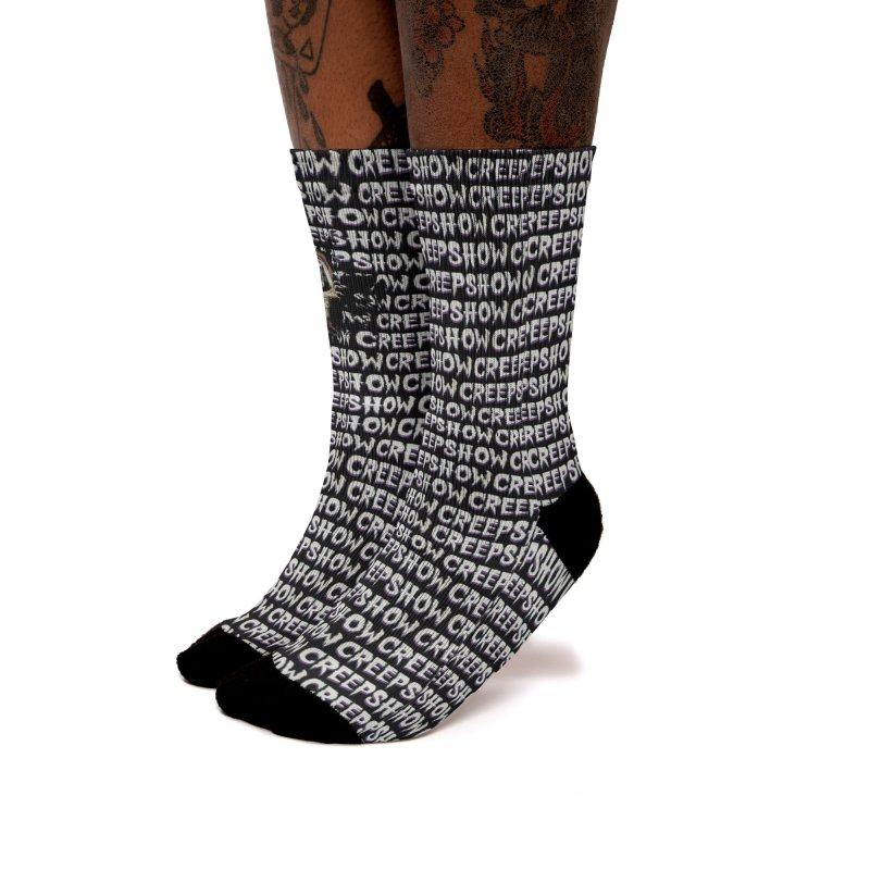 Creep Show Pattern Women's Socks by Official Creepshow Store