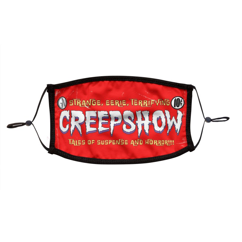 CreepShow Logo Accessories Face Mask by Official Creepshow Store