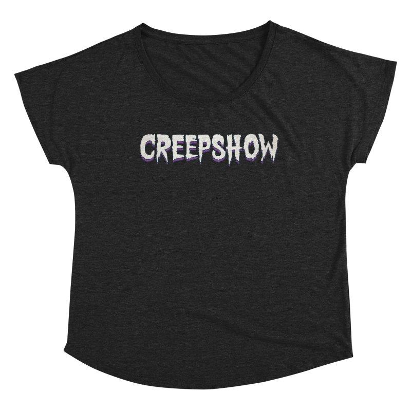 CreepShow Logo Women's Scoop Neck by Official Creepshow Store