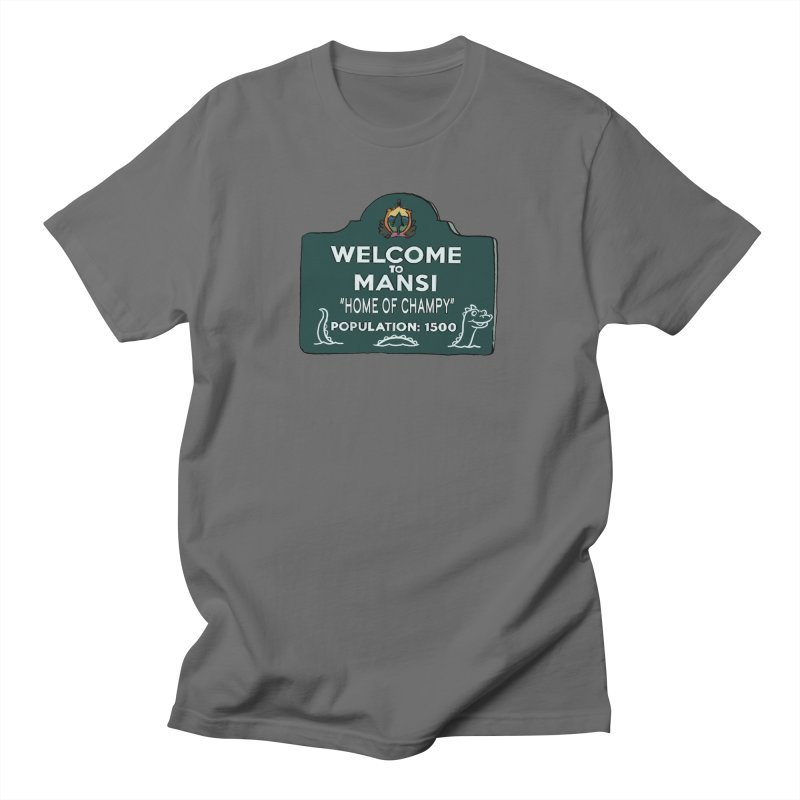Welcome To Mansi Men's T-Shirt by Official Creepshow Store